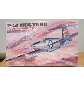 ACADEMY 12401, North American P-51 Allison engine North Africa BO 1/72