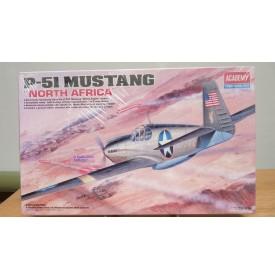 ACADEMY 12401, North American P-51 Allison engine North Africa BO 1/72