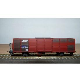 BEMO 2254 115, wagon tombereau type E N° 6605  RhB  BO