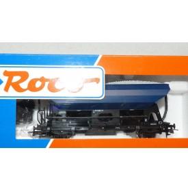 ROCO 47487,  wagon trémie à ballast MDR DB   BO