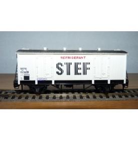 HORNBY acHO 7050, wagon couvert réfrigérant STEF SNCF BO