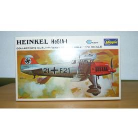 HASEGAWA JS- 053:100 HEINKEL He 51A1 Neuf BO 1/72