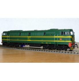 ELECTROTREN  2020,  loco diesel CoCo série 333 RENFE  BO