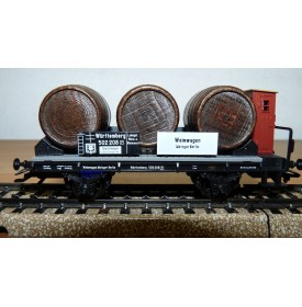 Märklin 46743, wagon foudres pour transport de vin K.W.Sts.E. Neuf BO