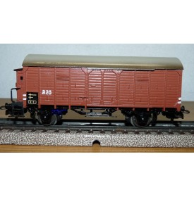 Märklin ancien 320  . 3,   wagon couvert à guérite  DB BO
