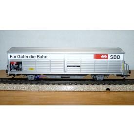 Märklin   4834, wagon couvert à parois coulissantes type Hbis SBB  Neuf  BO