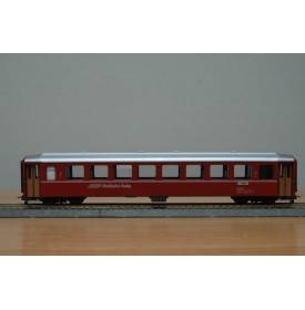 BEMO  3250 128, Voiture unifiée rouge Ferrovia Retica N°: B 2358  RhB  BO