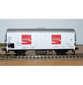 FLEISCHMANN 5347 wagon réfrigérant type Ichqrss377 COCA COLA DB BO