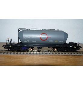 ELECTROTREN 5401, wagon citerne trémie pour transport de ciment TRANSFESA  RENFE BO