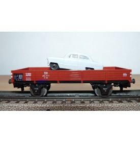 Märklin 4504,  wagon plat et Ford Taunus 17 M  Neuf  BO