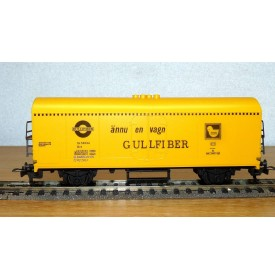 FLEISCHMANN 5332 wagon couvert  type Grs 212 ASG  SJ BO