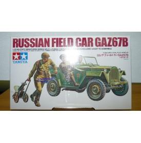TAMIYA 35021 JEEP russe GAZ 67B Neuf BO