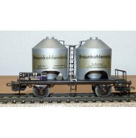 Märklin 4511 . 2,  wagon silo pour poussier  DB BO