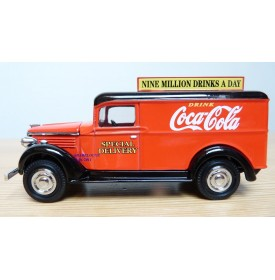 MATCHBOX  YCC02-M,  Fourgon GMC Coca Cola 1937  Neuf  BO