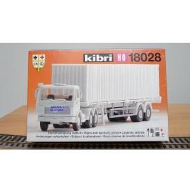 KIBRI 18028,  camion et semi MERCEDES BENZ HO BO  1/87