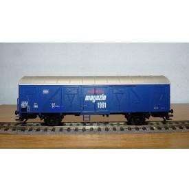 Märklin 84627, wagon couvert à guérite type Gos 245  Märklin Magazin 1991 DB  BO