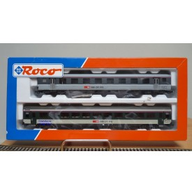 ROCO 44110 rare coffret de 2 voitures SBB BO