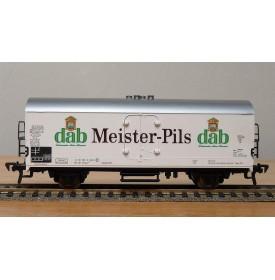 FLEISCHMANN 5342, wagon couvert type Ichqrss 377  Meister Pils dab DB BO