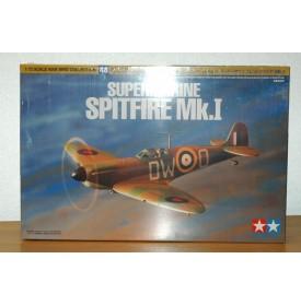 TAMIYA   60748,  Supermarine Spitfire Mk 1 Neuf  BO 1/72