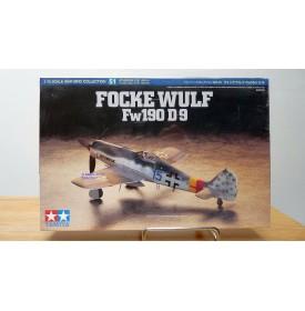 TAMIYA   60751,  Focke - Wulf FW 190 D-9 Neuf  BO 1/72