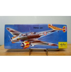 HELLER  L 394, bombardier POTEZ 631 Neuf  BO 1/72