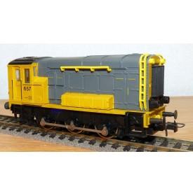 ROCO 04160 B, loco diesel à bielles série 500/600  N° 657 NS  BO