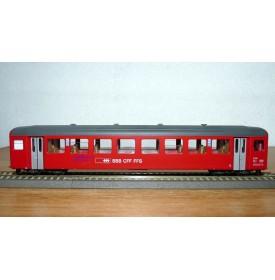 BEMO 3271 422, voiture unifiée 3 ème série de 2 Kl.   type B  N° 722 SBB CFF FFS Brünig Bahn   BO