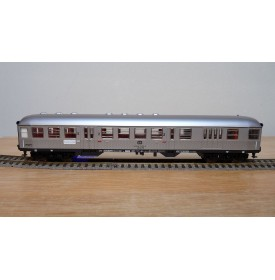 """FLEISCHMANN 5120, voiture pilote banlieue  """"Silberling"""" type BDnf  mixte fourgon/2 Kl. DB BO"""
