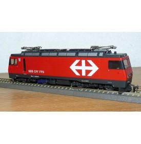 BEMO  1262 402, motrice  à crémaillère type HGe 101 Brünigbahn SBB    BO