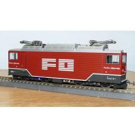 BEMO  1260 202, motrice Bo Bo  type Ge 4/4 III Tunnellok N°: 82  FO BO