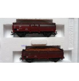 Märklin  46023, coffret 2 wagons tombereau type Eo 017 DB BO