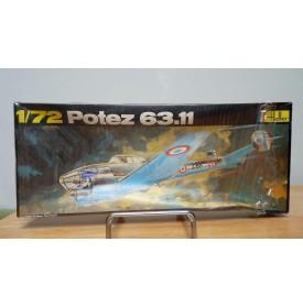 HELLER  396, chasseur de nuit POTEZ 631  Neuf  BO 1/72