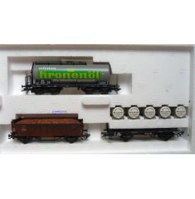 Märklin  47908, coffret 3 wagons Oldtimer-Güterwagen der ÖBB neuf  BO