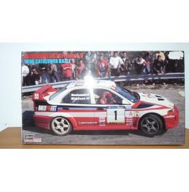 HASEGAWA 25082 MITSUBISHI Lancer Evo 5 CATALUNYA Rally  1998 Neuf BO 1/24
