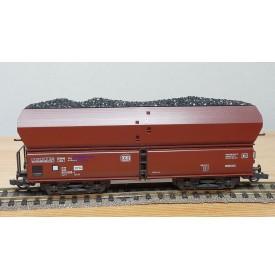 ROCO 46240,  wagon trémie type Fad 159 chargé charbon  DB  Neuf  BO