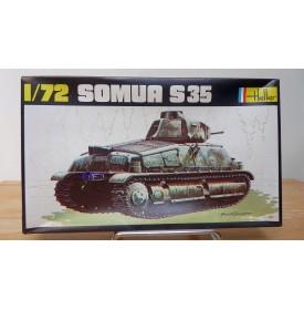 HELLER  197, char français SOMUA S 35  Neuf  BO 1/72
