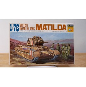 FUJIMI WA8-150,  Char d'infanterie anglais MATILDA  Neuf  BO 1/76