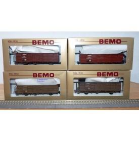 BEMO HOe 3272/S Coffret 4 voitures salon RHB BO