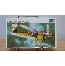 REVELL ancien H648, chasseur italien FIAT C.R.42 FALCO  BO 1/72