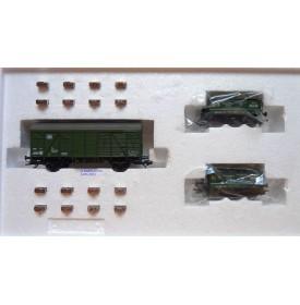 Märklin  48690, coffret 3 wagons étallonage des balances  DB  BO