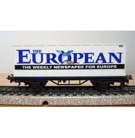 Märklin 4481 92718,  wagon + conteneur The European  BO