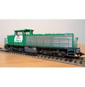TRIX  Digital 22312,  locomotive diesel MaK 1206  N° 461004 FRET SNCF BO
