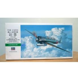 HASEGAWA 09084, Avion  de reconnaissance embarqué japonais NAKAJIMA C6N1 SAIUN ou MYRT  Neuf  BO 1/48