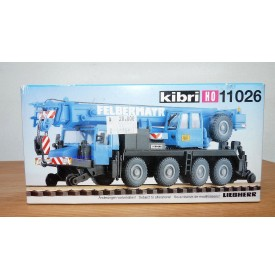 KIBRI 11026, grue mobile route / rail FELBERMAYR  HO BO 1/87