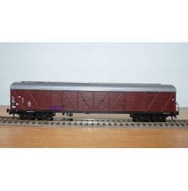 ROCO 4369A, wagon couvert à bogies type GGths Bromberg DB Neuf BO