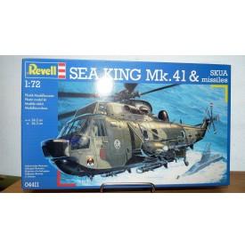 ITALERI 04411,  Hélicoptère  WESTLAND SEA KING Mk.41 et missiles SKUA Bundesmarine  Neuf  BO 1/72