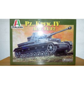 ITALERI 6217, char allemand Pz.Kpfw.IV Ausf. F1/F2 Neuf  BO 1/35