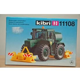 "KIBRI  ""echt "" 11108, Kit  MERCEDES BENZ MB-Trac  entretien voirie  Neuf  BO 1/87 HO"