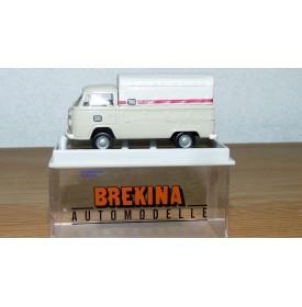 BREKINA 33911, camionnette plateau VW Kombi Stückgut   DB  Neuf  BO  1/87