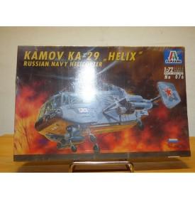 ITALERI 076, Hélicoptère KAMOV KA-29 Hélix Marine soviétique Neuf  BO 1/72
